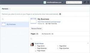Facebook работа с партнерами в Бизнес Менеджере