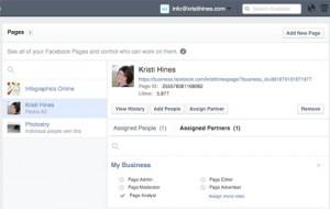 Другой способ назначит партнера в Бизнес Менеджере Facebook