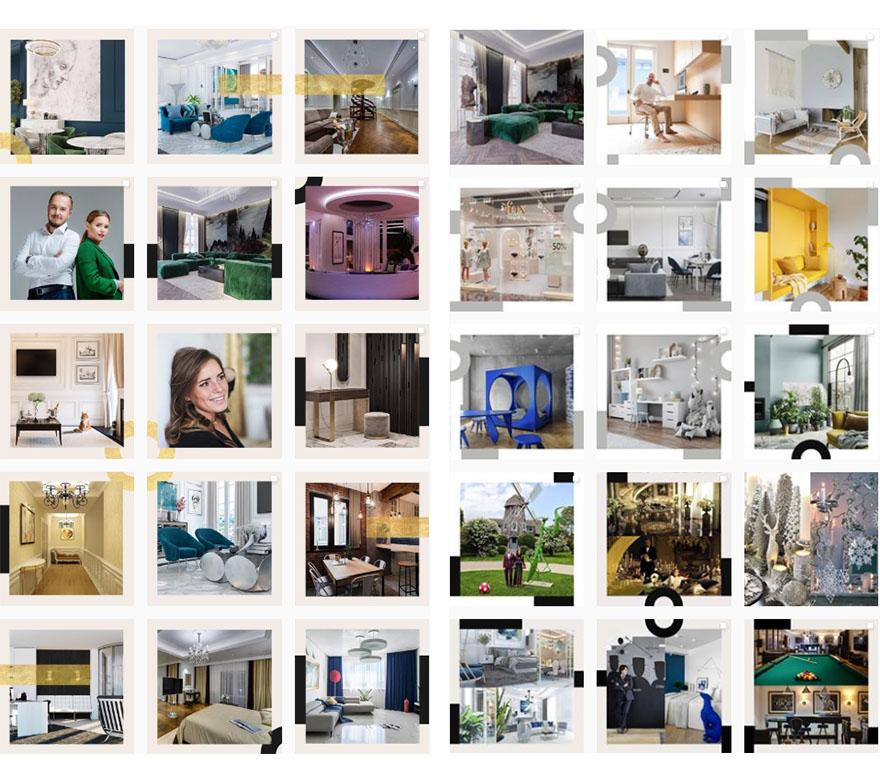 Планирование ленты Instagram для студии дизайна