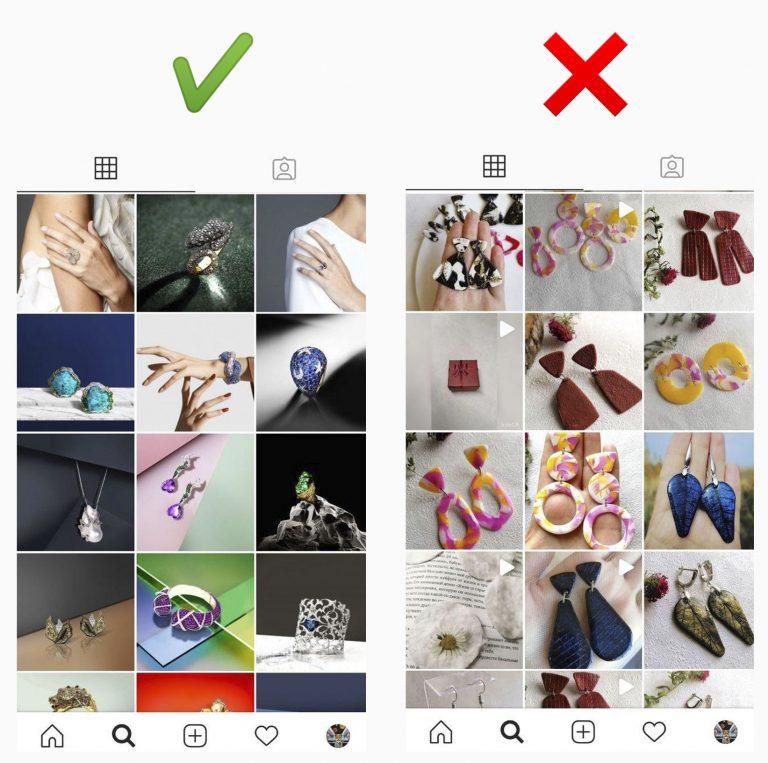 Как вести профиль ювелирного магазина в Instagram