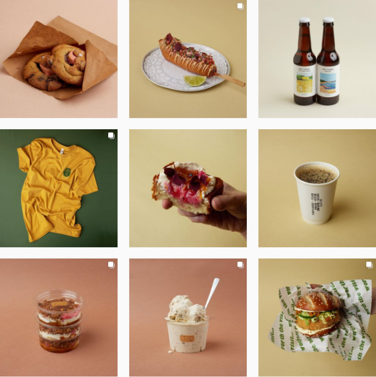 Визуал Инстаграм кафе Juliets