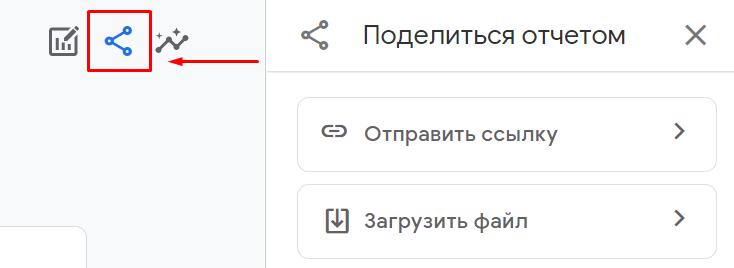 Экспорт отчета из гугл аналитики 4