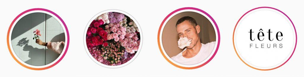 Аватар цветочного в Инстаграм