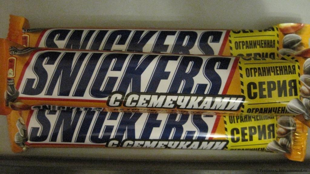 «Snickers» с семечками