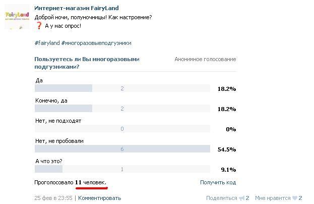 """Анализ сообщества """"FairyLand"""" во ВКонтакте (интернет-магазин детских товаров)"""