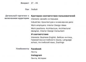 аудитория архитекторы и дизайн