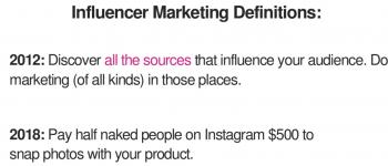 будущее рекламы influencers