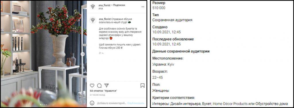Как рекламировать цветочный салон в Инстаграм