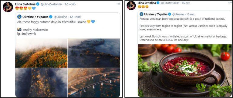 Что репостят звезды Украины. Элина Свитолина