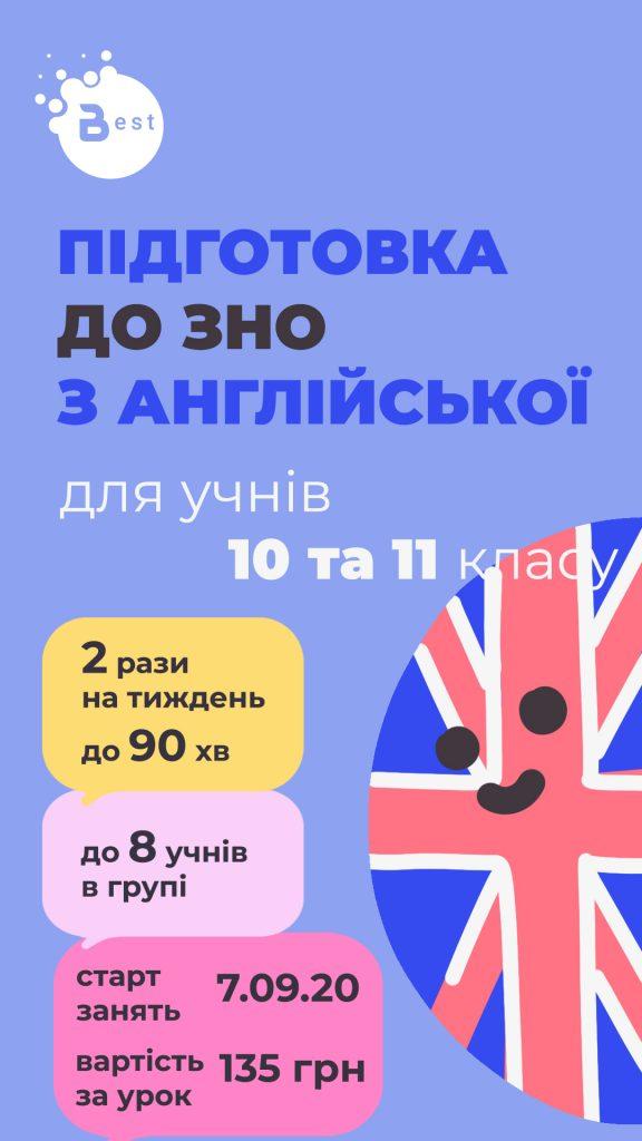 Реклама в Facebook Stories для школы английского языка